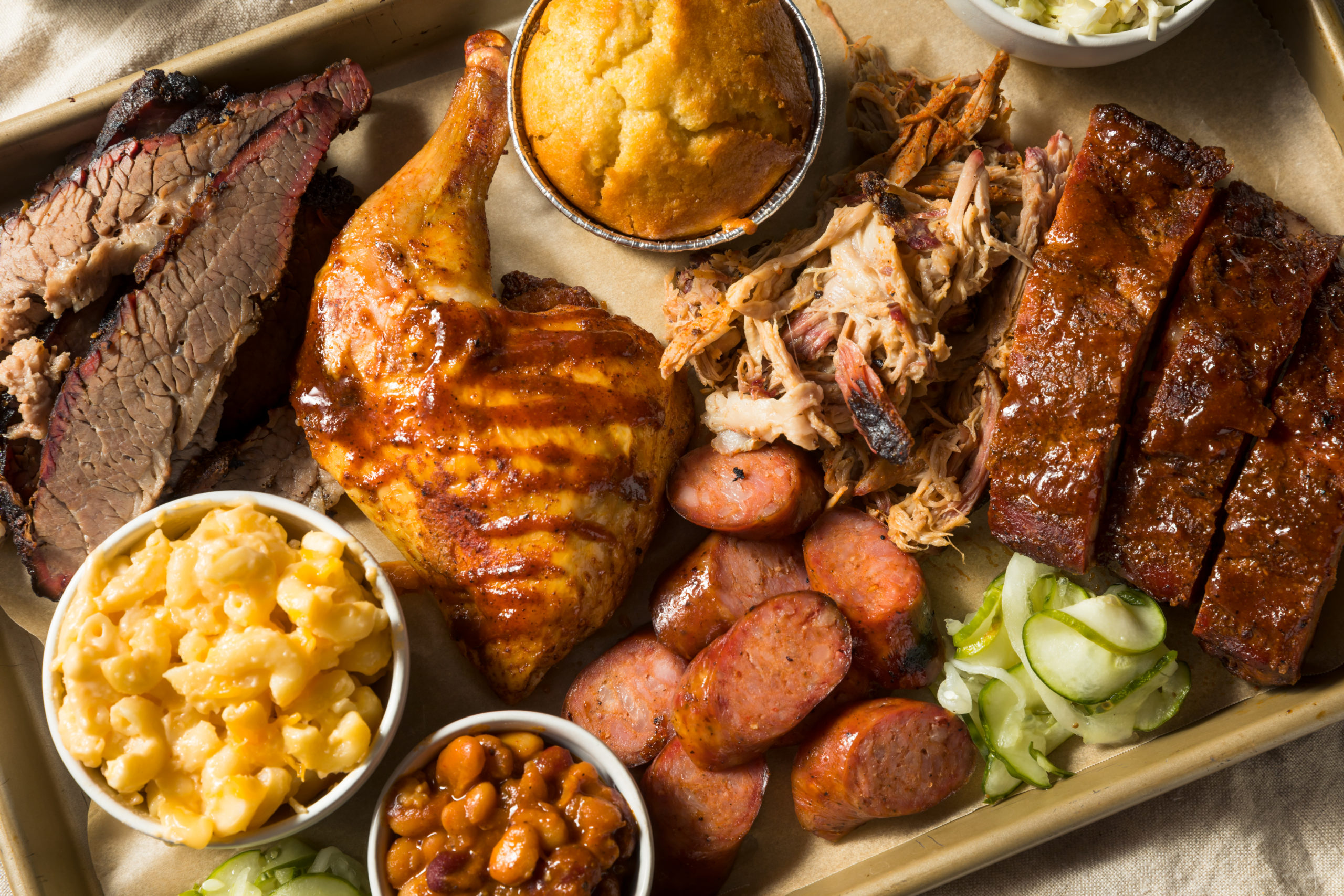 BBQ platter with sides | barbecue in Loudoun County, VA
